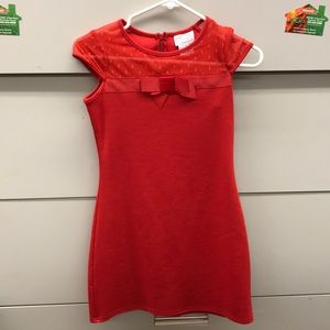 Blush-size 10 Girls red dress
